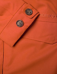 Didriksons - HANNA WNS COAT - trenchcoats - ember red - 9