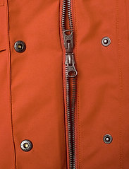 Didriksons - HANNA WNS COAT - trenchcoats - ember red - 10