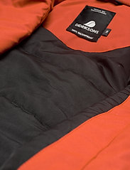 Didriksons - HANNA WNS COAT - trenchcoats - ember red - 12
