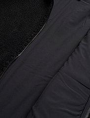Didriksons - BOSSE USX JKT 2 - basic-sweatshirts - black - 5