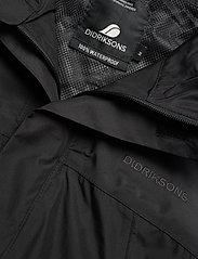 Didriksons - GRAND USX JKT - manteaux de pluie - black - 3
