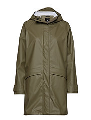 ELLY WNS COAT 2 - DUSTY OLIVE