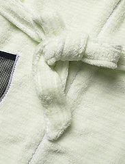 Didriksons - PIER KIDS BEACH ROBE - bathrobes - split green simple stripe - 5