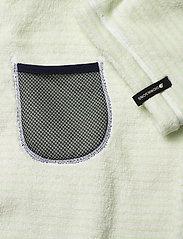 Didriksons - PIER KIDS BEACH ROBE - bathrobes - split green simple stripe - 6