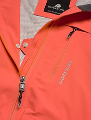 Didriksons - WIDA WNS JKT - kevyet takit - coral red - 6