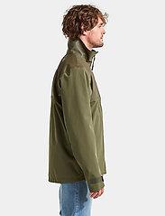 Didriksons - OLIVER USX JKT - sadetakit - fog green - 6