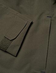Didriksons - OLIVER USX JKT - manteaux de pluie - fog green - 3