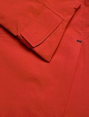 Didriksons - ASTON USX JKT - manteaux de pluie - lava red - 5