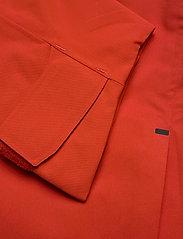 Didriksons - ASTON USX JKT - manteaux de pluie - lava red - 6