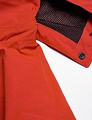 Didriksons - ASTON USX JKT - manteaux de pluie - lava red - 7