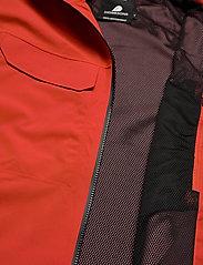 Didriksons - ASTON USX JKT - manteaux de pluie - lava red - 8