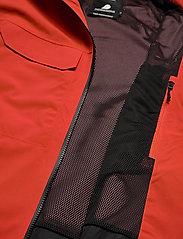 Didriksons - ASTON USX JKT - manteaux de pluie - lava red - 9