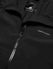 Didriksons - COLIN USX JKT - manteaux de pluie - black - 3