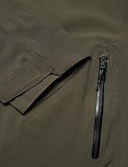 Didriksons - COLIN USX JKT - manteaux de pluie - fog green - 3