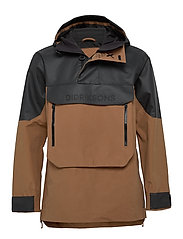 JULIUS USX ANORAK - ALMOND BROWN