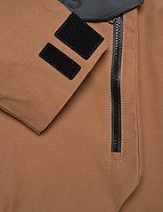 Didriksons - JULIUS USX ANORAK - rainwear - almond brown - 7