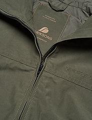 Didriksons - STELLAN USX JKT - manteaux de pluie - dusty olive - 3