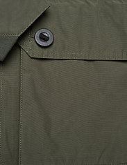 Didriksons - STELLAN USX JKT - manteaux de pluie - dusty olive - 4