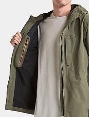 Didriksons - OVE USX JKT - manteaux de pluie - dusty olive - 3