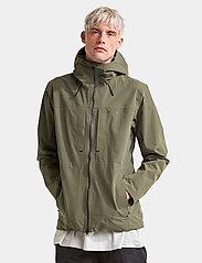 Didriksons - OVE USX JKT - manteaux de pluie - dusty olive - 4