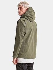 Didriksons - OVE USX JKT - manteaux de pluie - dusty olive - 6