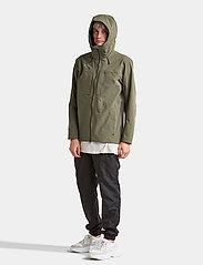 Didriksons - OVE USX JKT - manteaux de pluie - dusty olive - 7