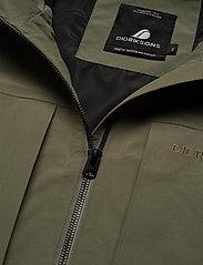 Didriksons - OVE USX JKT - manteaux de pluie - dusty olive - 8