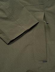 Didriksons - OVE USX JKT - manteaux de pluie - dusty olive - 9