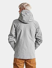 Didriksons - OVE USX JKT - rainwear - stone grey - 6
