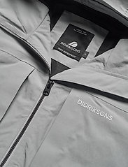 Didriksons - OVE USX JKT - rainwear - stone grey - 9