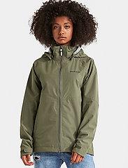 Didriksons - TERA GIRLS JKT 3 - shell jacket - dusty olive - 0