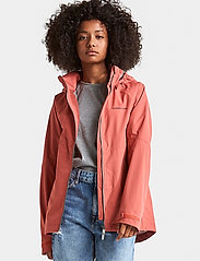 Didriksons - TERA GIRLS JKT 3 - shell jacket - pink blush - 0