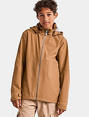 Didriksons - PIKO BOYS JACKET 3 - shell jacket - almond brown - 0