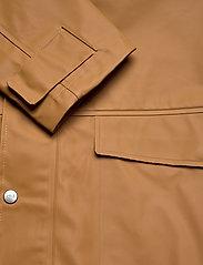Didriksons - OSKAR USX JKT 2 - manteaux de pluie - almond brown - 5