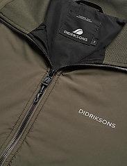 Didriksons - PEDER USX JKT 2 - vestes légères - fog green - 3