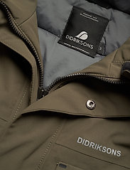 Didriksons - DREW USX PARKA 4 - parkas - fog green - 5