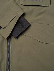 Didriksons - LUKE BS JKT - shell- & regenjassen - fog green - 5