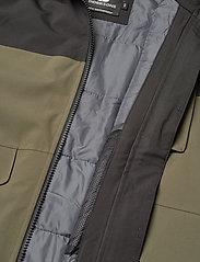 Didriksons - LUKE BS JKT - shell- & regenjassen - fog green - 8