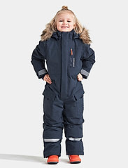 Didriksons - POLARBJÖRNEN COVERALL - shell coveralls - navy - 0