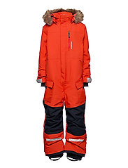 POLARBJÖRNEN COVERALL - POPPY RED