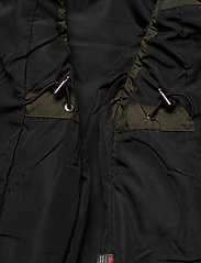 Didriksons - MY WNS VEST - puffer vests - forest green - 9
