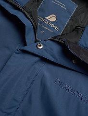 Didriksons - ALVIN USX COAT - parkas - cold blue sea - 3