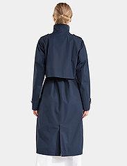 Didriksons - LOVA WNS COAT 3 - trenchcoats - dark night blue - 7