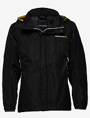 Didriksons - VIVID BS JACKET - shell jacket - black - 0