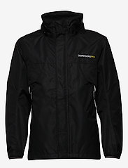 Didriksons - VIVID BS JACKET - shell jacket - black - 2