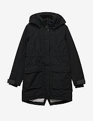 Didriksons - RONNE GS YT PARKA - puffer & padded - black - 1
