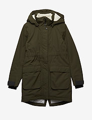 Didriksons - RONNE GS YT PARKA - puffer & padded - peat - 1