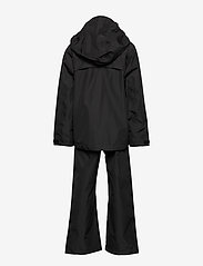 Didriksons - GRAND YT RAIN SET - ensembles - black - 2