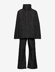 Didriksons - GRAND YT RAIN SET - ensembles - black - 3