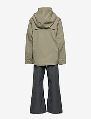 Didriksons - GRAND YT RAIN SET - sets & suits - mistel green - 2
